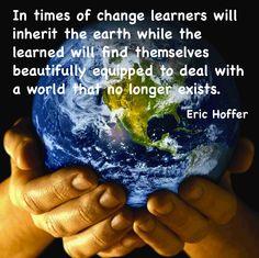 Leadership. Times of change mean leaders must be learners.