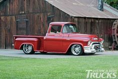 1956 GMC 100 Custom Lowered Pickup Truck Classic