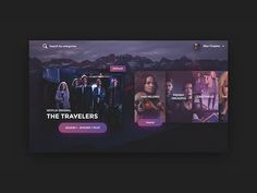 Apple TV Concept designed by Alec Korkuc for DUNCKELFELD. Connect with them on Dribbble; Ui Ux Design, Interface Design, User Interface, Smart Tv, Apple Tv Hacks, Tv Icon, Tv App, Simple App, Music App