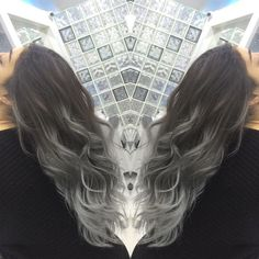 Grey ombre hair is super chic - check out the coolest looks on GLAMOUR.com (UK)