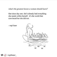 already whole. already enough. #internationalwomensday from @rupikaur_