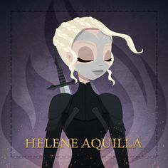 illustration of Helene Aquilla - by another view