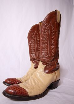 2a81b3fbe68e1 15 Best Vintage Cowboy Boots images in 2017   Western boot, Cowboy ...