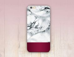 Rose GoldMarble Print Phone Case iPhone 6 Case by CRCases