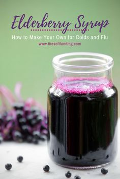We've been building our arsenal of natural remedies to combat the flu as it continues run to rampant across the country.  Besides taking Vitamin D3 to help boost our immune systems during the Winter, we've been thrilled with the healthy boost that our homemade elderberry syrup has offered us and our kids.