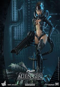 Alien Girl AVP Alien vs Predator Hot Angel Series - Sixth Scale Figure by Hot Toys