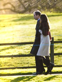 Duke and Duchess of Cambridge #katemiddleton Christmas Day 2013
