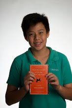 The curious incident of the dog in the night-time -- by Mark Haddon -- (see book here: http://catalog.uwcsea.edu.sg/cataloging/servlet/presenttitledetailform.do?site=103&siteTypeID=-2&bibID=99671 )
