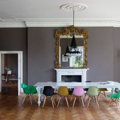 The unmistakeable style of Ilse Crawford in this Georgian house, in Somerset.