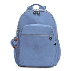 Kipling Women s Seoul Go Large 15  Laptop Backpack One Size Dream Blue Kipling  Backpack 1228317180