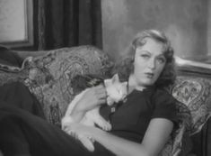 Cat actor Whitey was a veteran of early Hollywood and had one of his most notable roles playing opposite Eve Arden in the all-star film Stage Door (1937).