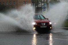 ВЕДОМОСТИ - ФOTO - На Москву обрушился аномальный ливень