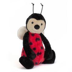 Bashful Ladybug Soft Toy