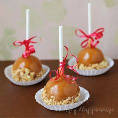 Hungry Happenings: A Fun Little Treat for the Holidays - Caramel Apple Fudge Pops