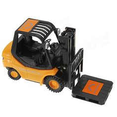 Mini RC Toy Forklift Radio Remote Control Truck Car New - US$16.99