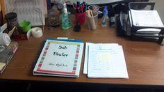 My Organized Chaotic Classroom: Sub Binders. GREAT resource!