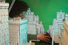 Exploring and Developing Animation: stop motion sets research (Continued)