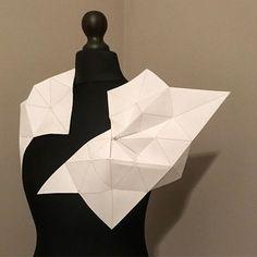 #maryamdastmalchian #parametricfashion #codestructedskin #parametricdesign #fashionarchitecture #kinetic