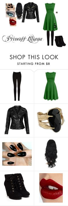 """Liliana, The Proclamation"" by locksley-cxli ❤ liked on Polyvore featuring Oasis, VIPARO and Charlotte Tilbury"