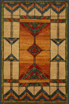 mission rugs arts and crafts | Indian Arts and Crafts Rug #37993 at Emmett Eiland's Oriental Rugs