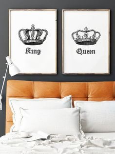 King And Queen Crown Wall Decor awww the king and queen set is awesome cuz the hubby and i want to