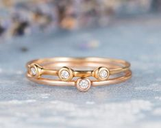 HANDMADE RINGS & BRIDAL SETS by MoissaniteRings on Etsy Bridal Ring Sets, Handmade Rings, Gold Rings, Etsy Seller, Wedding Rings, Unique Jewelry, Rose Gold, Engagement Rings, Diamond