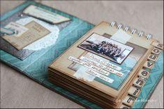 Album Photo Scrapbooking, Mini Albums Scrapbook, Vintage Scrapbook, Wedding Scrapbook, Scrapbook Paper Crafts, Mini Album Scrap, Album Vintage, Paper Bag Album, Mini Album Tutorial