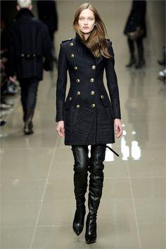 Sfilata Burberry Prorsum London - Collezioni Autunno Inverno 2010/2011 - Vogue