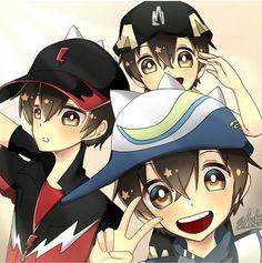 Galaxy Movie, Anime Galaxy, Boboiboy Galaxy, Boboiboy Anime, My Childhood Friend, Pokemon Comics, I Wallpaper, Boruto, My Idol