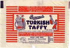 candy from 1950s and 1960s | candy collector collecting old candy wrappers to build my ...