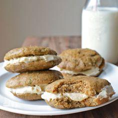 Zucchini Whoopie Pies - Simple Seasonal #TriplePFeature