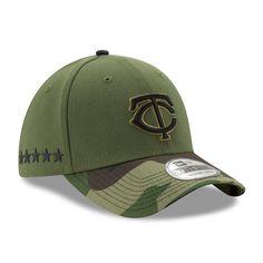 Minnesota Twins New Era 2017 Memorial Day 39THIRTY Flex Hat - Green