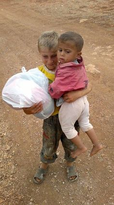 Because of #Assad war against his people