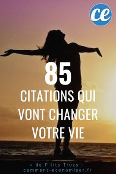 Quotes and inspiration QUOTATION - Image : As the quote says - Description 85 Citations Inspirantes Qui Vont Changer Votre Vie. Happy New Year Quotes, Quotes About New Year, Best Quotes, Love Quotes, Inspirational Quotes, Daily Quotes, Positive Attitude, Positive Quotes, Positive Motivation