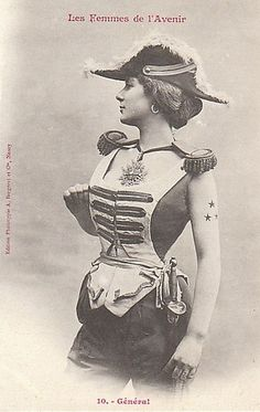 1902 'Futuristic' Women's Attire