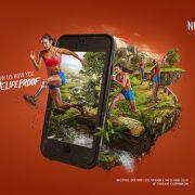 Produção da campanha para as capas de iPhone 6 Lifeproof