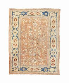 ZIEGLER CARPET  SULTANABAD DISTRICT, WEST PERSIA, CIRCA 1880    15ft.3in. x 11ft.9in. (463cm. x 357cm.)