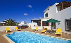Luxury 3 Bedroom detached villa with private pool and sea views in Playa Blanca, Lanzarote. Come and take a look inside! Lots more property for sale in Lanzarote to see too!