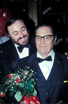 Luciano with his father Fernando, they look so lovely!