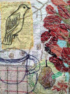 A mockingbird?  ......ahem...?   Anne Kelly Textiles