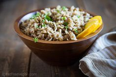 Spiced Lentils and Rice