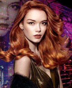 Redken Chromatics Copper model! Beautiful shine! Beautiful hair!