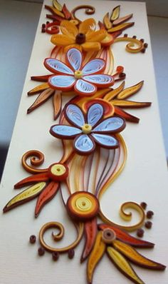 #papercraft #quilling neli: Quilling card