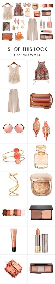 """""""Vests"""" by maria-tamarindo ❤ liked on Polyvore featuring Relic, Matthew Williamson, Kate Spade, Boucheron, Maison Margiela, NYX, blacklUp, Bobbi Brown Cosmetics, Urban Decay and Essie"""