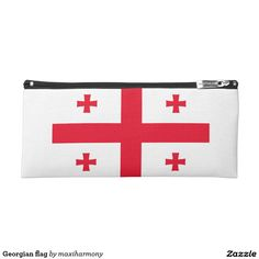 Georgian flag pencil case