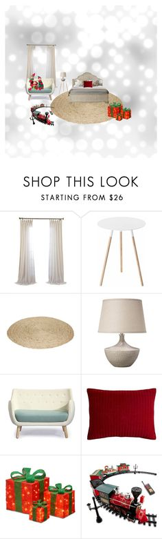 """Christmas"" by ingesabiella on Polyvore featuring interior, interiors, interior design, home, home decor, interior decorating, Yamazaki, Parlor, Pier 1 Imports and National Tree Company"