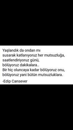 Yaşlandık da ondan mı Edip Cansever Sentences, Quotations, Poems, Sayings, Beautiful, Quotes, Frases, Poetry, A Poem