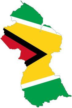 File:Flag-map of Guyana.svg - Wikimedia Commons