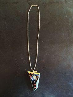 Aqua Picasso Necklace