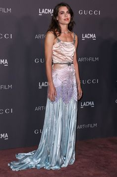 Charlotte Casiraghi attends the 2017 LACMA Art + Film Gala on November 4, 2017 in Los Angeles, California.